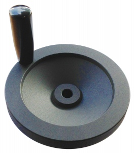 HAND WHEEL& HANDLE: ALLOY 3030 80MM DISC