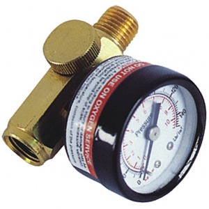 INLINE AIR VALVE: JV-02 WITH GAUGE