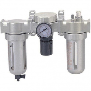 AIR FILTER REGULATOR OILER: 1/4