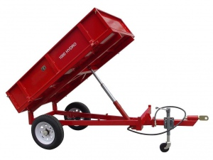 FARM TRAILER: 2000 X 1000 X 350MM HYD TIP