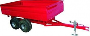 FARM TRAILER: 3000 X 1200 X 400MM HYD TIP