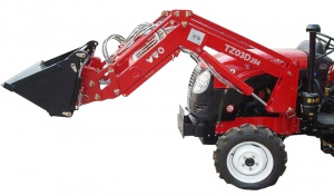 FRONT END LOADER: 4 IN 1 BUCKET HYDRAULIC