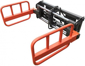 SQUARE BALE GRIPPER: WITH HOSES
