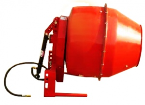 CONCRETE MIXER: 3PT LINKAGE PTO 5CU/FT