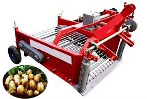 CARROT HARVESTER: PTO 3PT LINKAGE