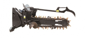 TRENCHING ATTACHMENT: 1200 3PT LINKAGE 50-1200MM