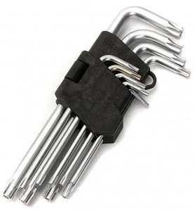 TORX KEY: 9PC SET SHORT**THIS PRODUCT IS NO LONGER AVAILABLE** See AKS123044