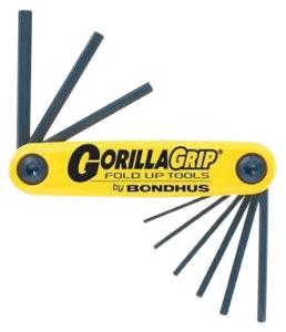 GORILLA GRIP: 7PC SET BALL END METRIC FOLDING