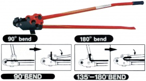 RE-BAR BENDER-CUTTER: 16MM CAPACITY MAXPOWER