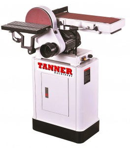 BELT/DISC SANDER: TANNER W506 3/4HP 152MM BELT X 12