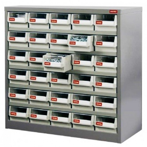 STEEL PARTS CABINET: 30 DRAW H/DUTY HD-530