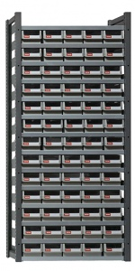 STEEL PARTS CABINET: 65 DRAW H/DUTY