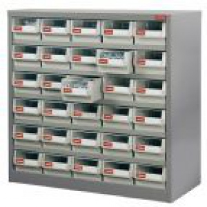 STEEL PARTS CABINET: 30 DRAW HD-530