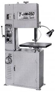 BANDSAW: TJ-450 METAL 3PH VERTICLE