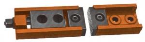 CLAMP: CARVER EDGE T500 2PC SDET