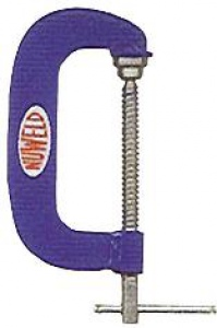 G CLAMP: NUWELD 100MM STEEL H/DUTY