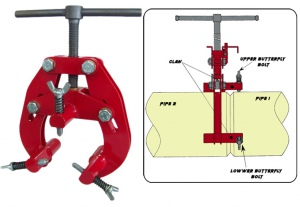 PIPE WELDING CLAMPS: MAXPOWER 1-6