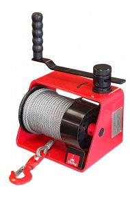 DRUM WINCH: 250KG 5.0MM X 20M CABLE H/DUTY
