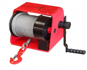 DRUM WINCH: 300KG X 20M CABLE H/DUTY