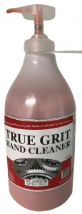 HAND CLEANER: 2 LITRE PUMP TRUE GRIT