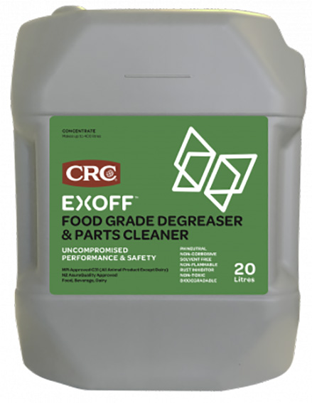 DEGREASER: CRC EXOFF CLEANER