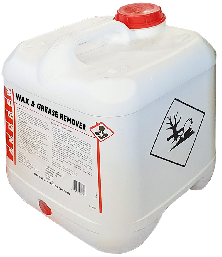 WAX & GREASE REMOVER:: ANDREWS 20LTR