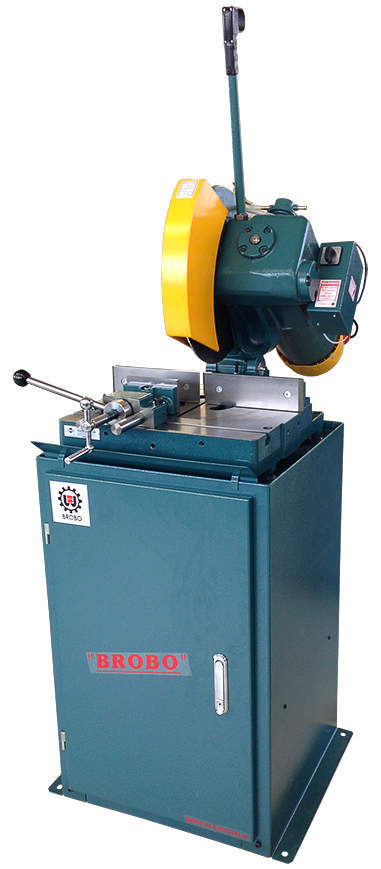 CUT OFF SAW: BROBO SUPER S400B, Integrated Stand 9800040