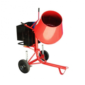 CONCRETE MIXER: 120LTR BOWL 2.5HP PETROL