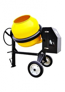 CONCRETE MIXER: 320LTR BOWL 6.0HP PETROL