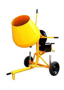 CONCRETE MIXER: 180LTR BOWL 750W ELECTRIC