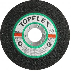 C/O WHEEL: 115 X 2.5 X 22MM TOPFLEX STEEL