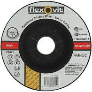 C/O WHEEL: 115 X 3.0 X 22MM FLEXOVIT STEEL