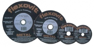 C/O WHEEL: 406 X 3.2 X 25.4MM FLEXOVIT STAINLESS