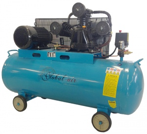 COMPRESSOR: GLOBAL 150LTR 4HP 3PH