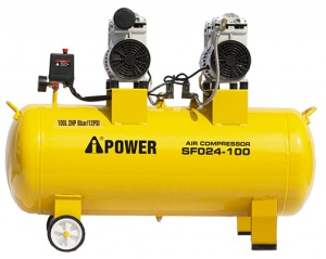 COMPRESSOR: I-POWER 1.2HP 1PH 100LTR OIL FREE 100L TANK