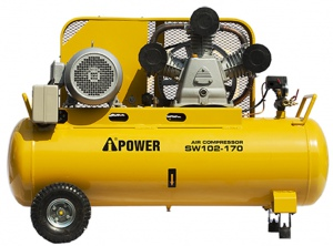 COMPRESSOR: I-POWER 10HP 3 CLY 170LTR 3PH 900L/MIN
