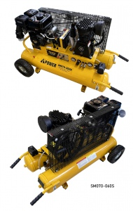 COMPRESSOR: I-POWER PETROL 60LTR 6.5HP 320L/MIN 8 BAR