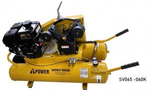 COMPRESSOR: I-POWER PETROL 60LTR 6.5HP 320L/MIN 8 BAR