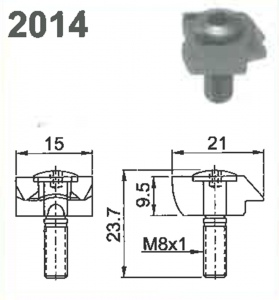 CLAMP WEDGE (M) # 2014