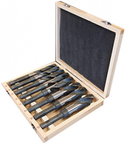 REDUCED SHANK DRILL SET: 8PC ETS HSS-M2