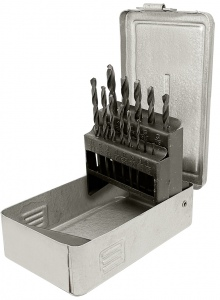 DRILL SET: SUTTON 1.0 - 6.5MM SM1 12PC MET