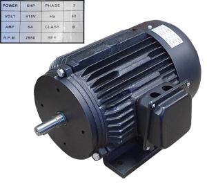 FM-300: MOTOR FOR FM300 415V   FM300S-5-M