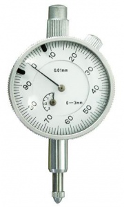 DIAL GAUGE: METRIC 0-5MM