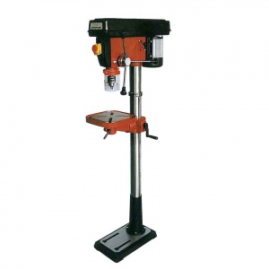 DRILL PRESS: ZJ-25 MT2 FLOOR TYPE 1HP 12 SPEED