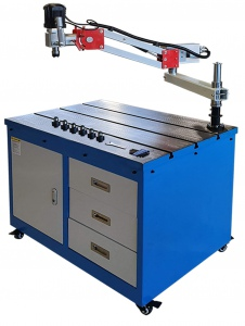TAPPING MACHINE: WTP24 M6 - M24 CAPACITY W/TABLE