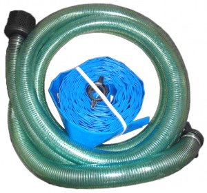 SUCTION / DELIVERY HOSE KIT: 2