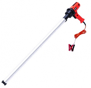 DRUM PUMP: 24V 30-100L/MIN 25MM OUTLET