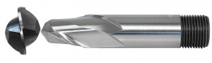 BALL NOSE: HSS-Co8 3.0MM 2 FLUTE STANDARD T/SHANK (SOMTA)