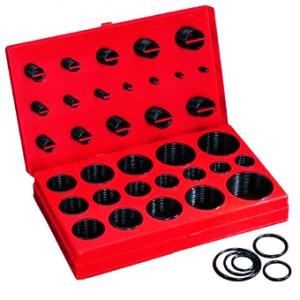 O-RINGS: 212PCS H/PRESSURE NBR90 ASSORTMENT