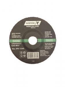 GRINDING DISC: 125X6X22MM A24 GLOBE